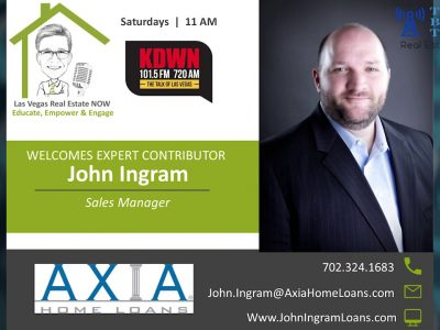 Important Home Buying Questions with John Ingram with Axia Loans